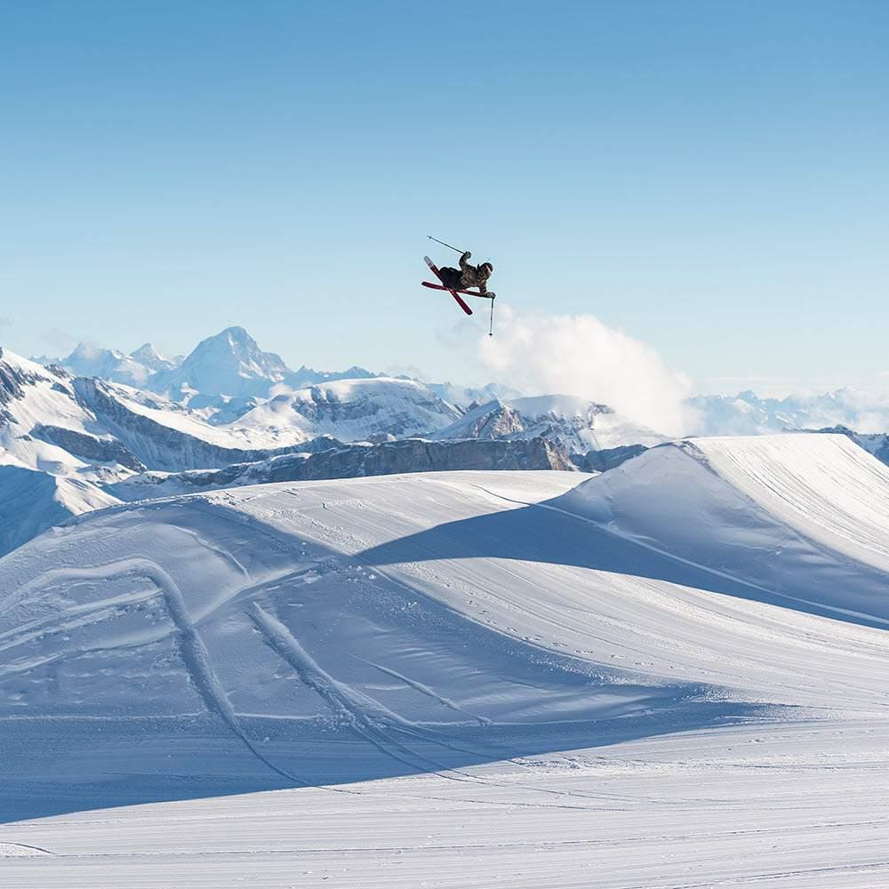 Vorschaubild zu Glacier 3000 - Winter