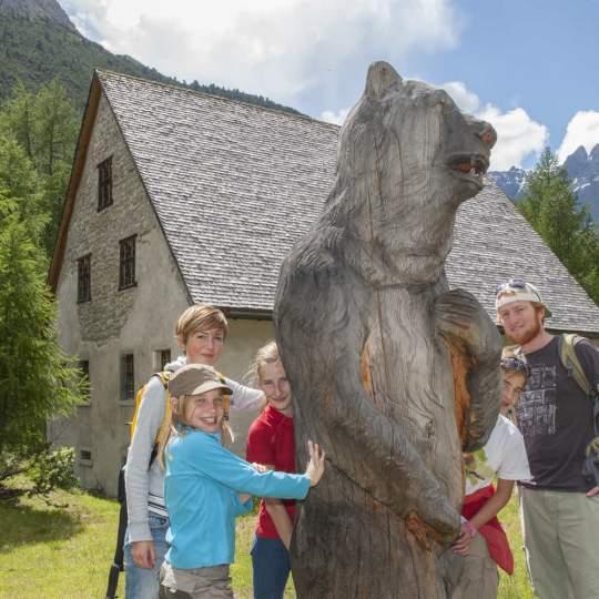 Bärenerlebnisweg Senda da l'uors S-charl 10