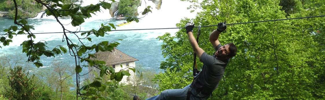 Adventure-Park Rheinfall bei Neuhausen 1