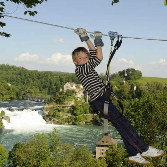 Vorschaubild zu Adventure-Park Rheinfall bei Neuhausen