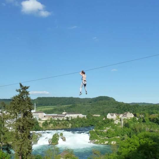 Adventure-Park Rheinfall bei Neuhausen 10