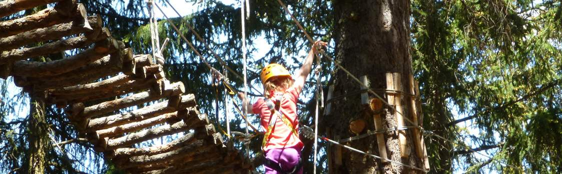Abenteuerpark Adrenatur - Fun Forest in Crans-Montana 1