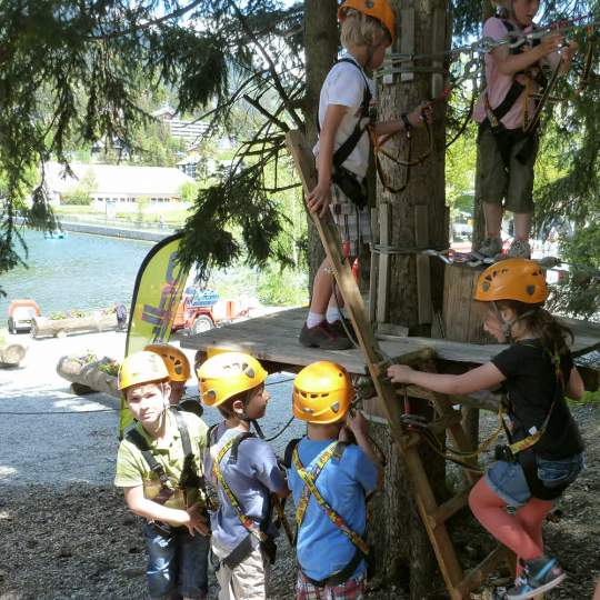 Abenteuerpark Adrenatur - Fun Forest in Crans-Montana 10