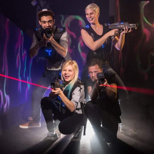 Vorschaubild zu Lasertag Basel