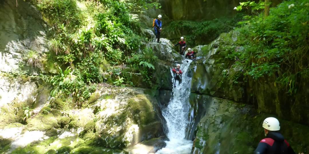 Fischer Adventures – Canyoning der Sommerspass