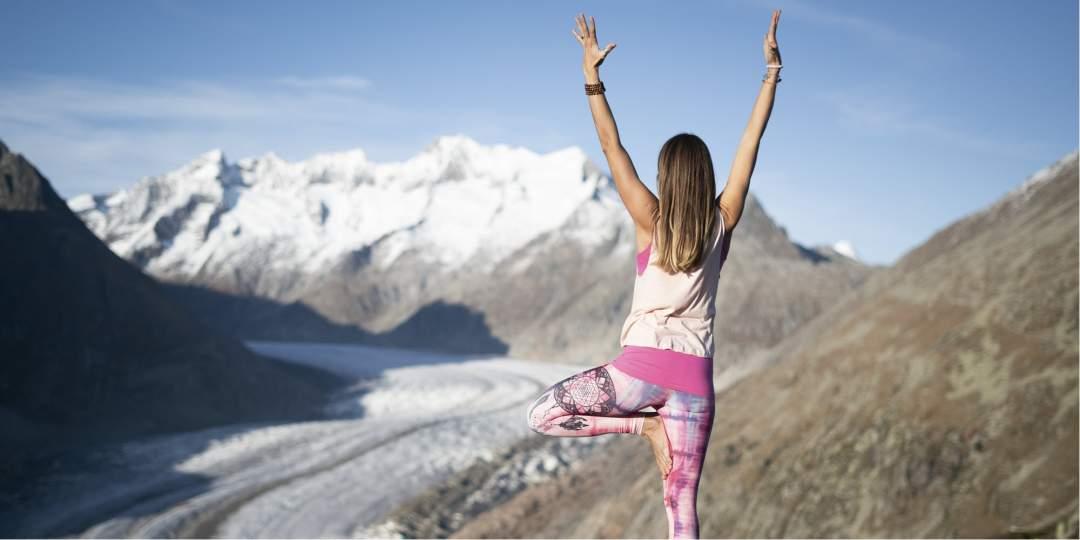 1. Mountain Glow Yoga Festival der Schweiz