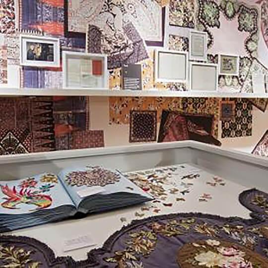 Vorschaubild zu Textilmuseum Textilbibliothek St.Gallen