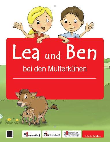 Logo zu Erlebnisweg Lea und Ben bei den Mutterkühen - Meierskappel
