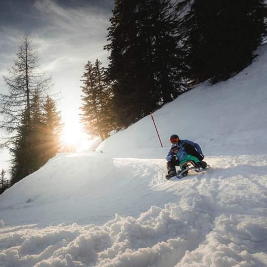Schlittelabfahrt Fiescheralp – Lax 10