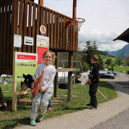 Vorschaubild zu Erlebnisweg Lea und Ben bei den Mutterkühen - Meierskappel
