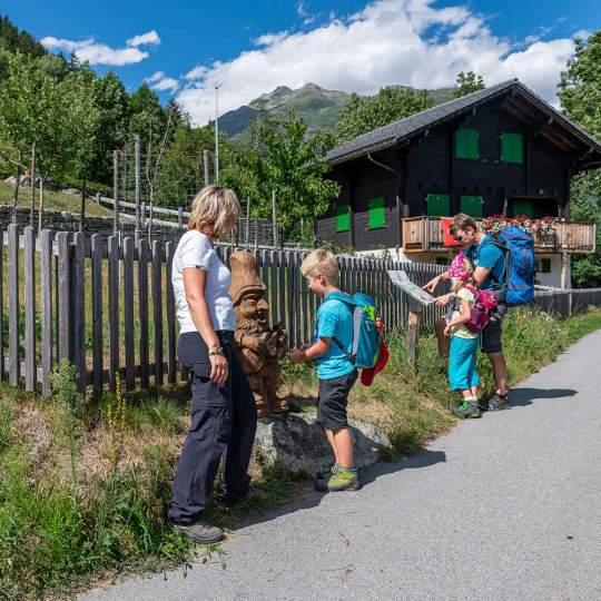 Themenweg Gogwärgiweg von Lax nach Fieschertal 10