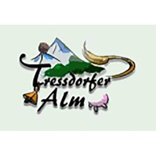 Logo zu Tressdorfer Alm Schihütte, Schaukäserei, Almgasthaus