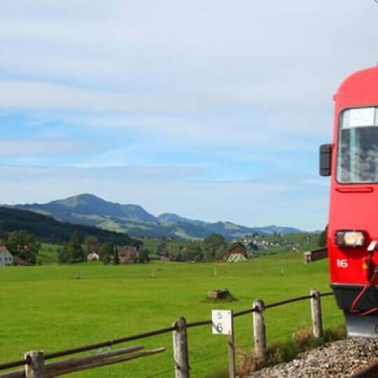 Zahnradbahn Altstätten - Gais 10