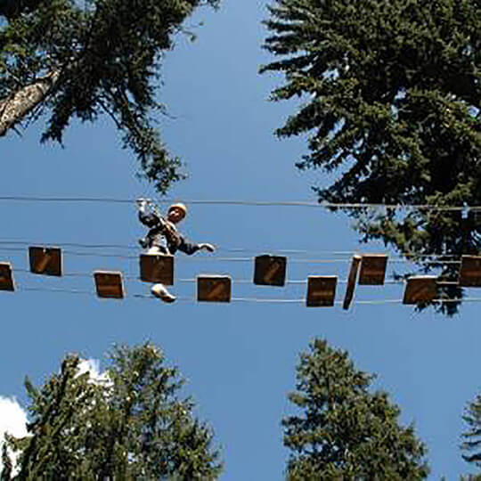 Abenteuerpark Adrenatur - Fun Forest in Crans-Montana