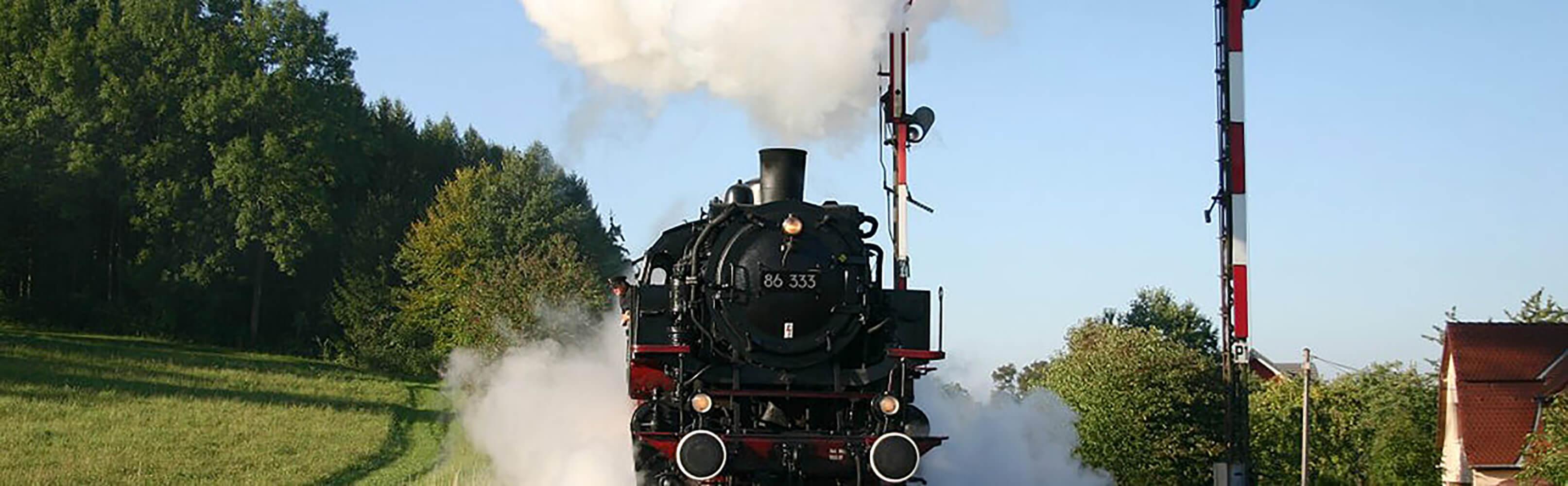 Historische Dampf- und Dieselzugfahrten mit der Sauschwänzlebahn  1