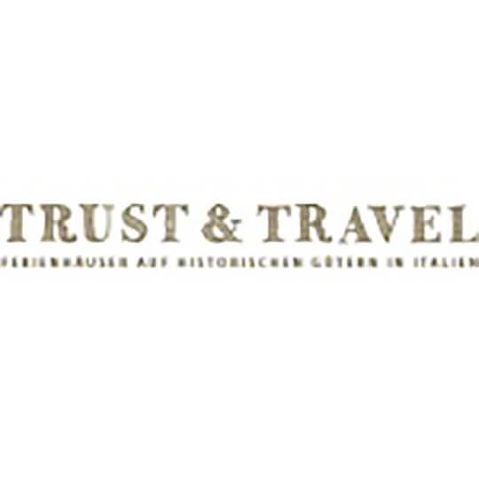 Logo zu Trust & Travel - Ferienhäuser auf historischen Gütern in Italien