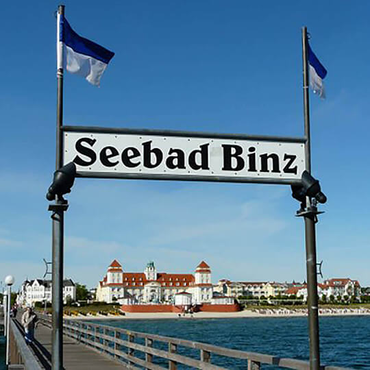 Vorschaubild zu Gemeinde Ostseebad Binz - Kurverwaltung