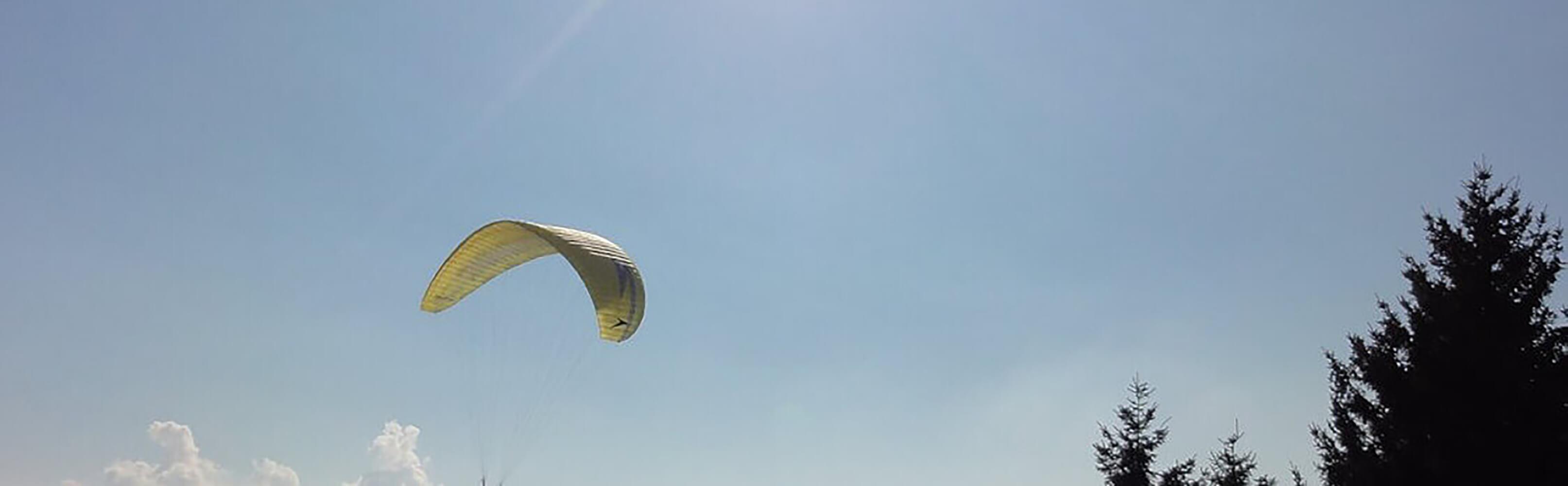 Gleitschirmfliegen als Tandem-Passagier oder als Schnupperschüler 1