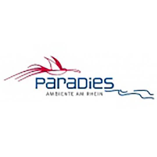 Logo zu Willkommen im Restaurant Paradies - AMBIENTE AM RHEIN