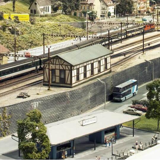 Fahrsimulator im Chemins de fer du Kaeserberg 10