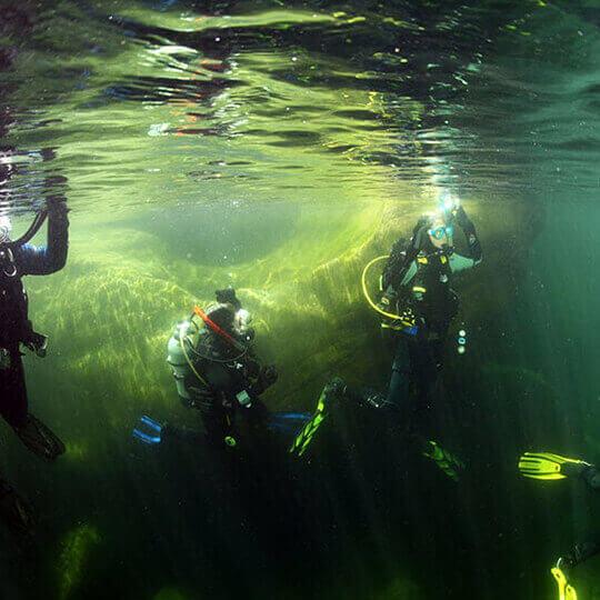 Tauchschule Poseidon - Flusstauchen 10