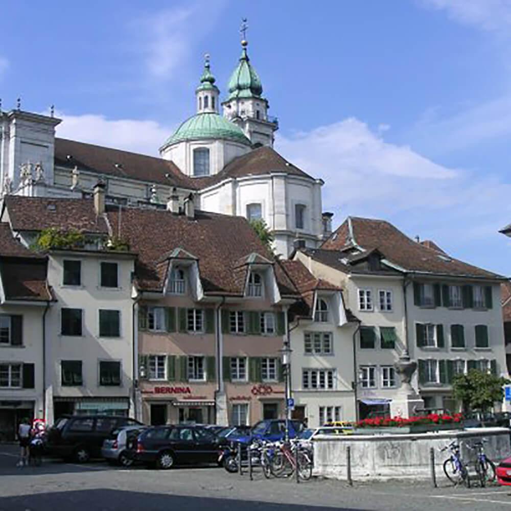 Hist. Altstadt / St. Ursenkathedrale