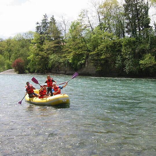 Als eigener Flusskapitän auf der Aare 10