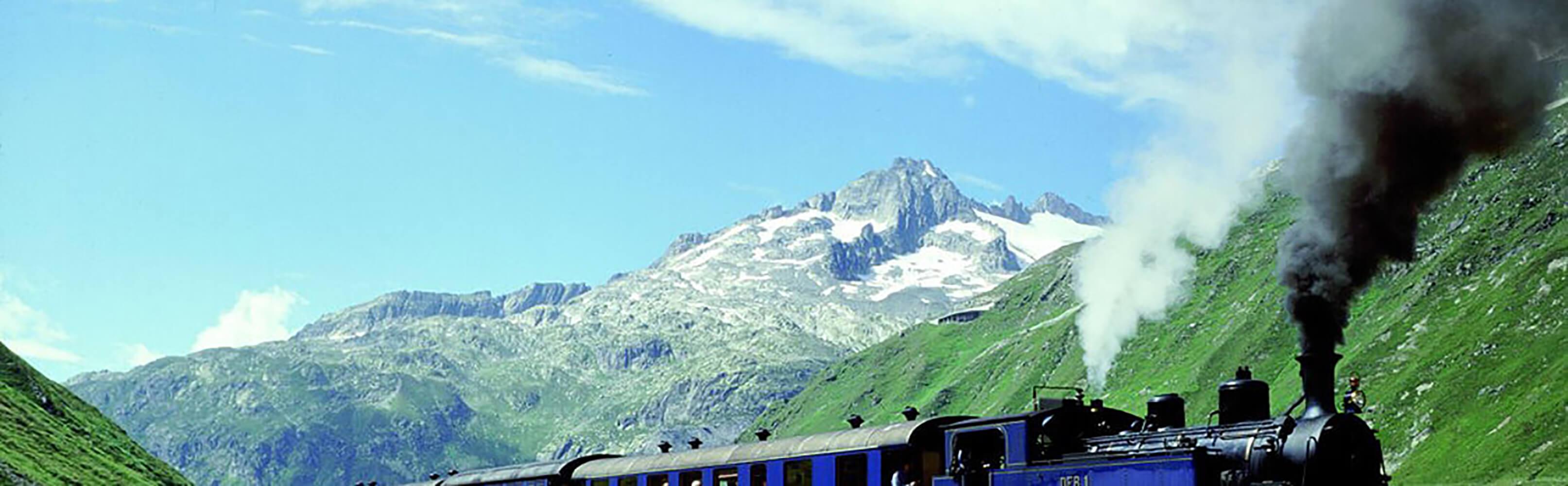 Dampfbahn Furka-Bergstrecke 1