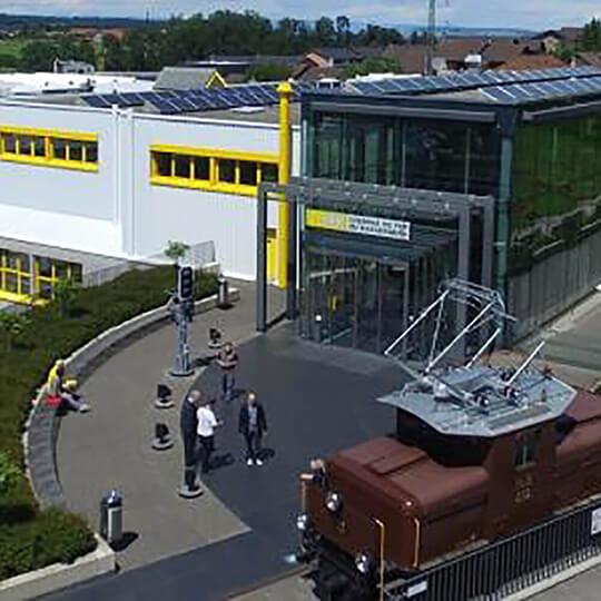 Vorschaubild zu Fahrsimulator im Chemins de fer du Kaeserberg in Granges-Paccot (Freiburg)