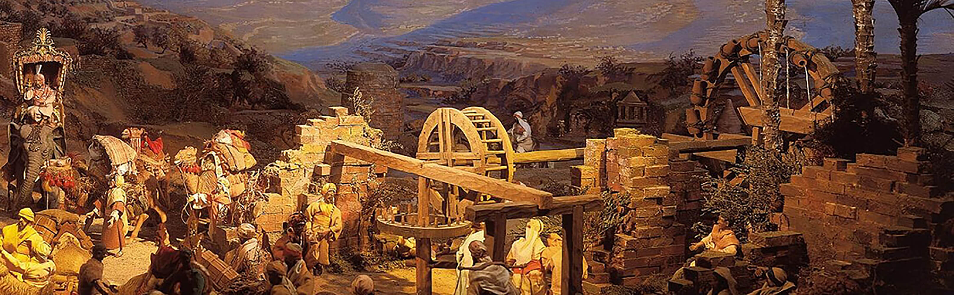 Diorama Bethlehem Einsiedeln 1