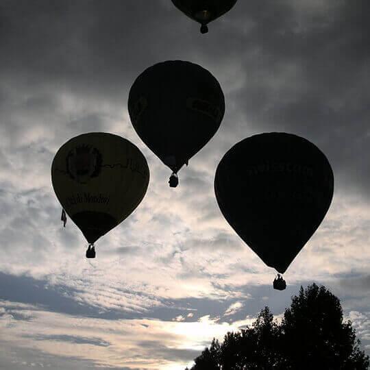 Ballonfahren mit Schweizer Meister Thedi Bolli 10