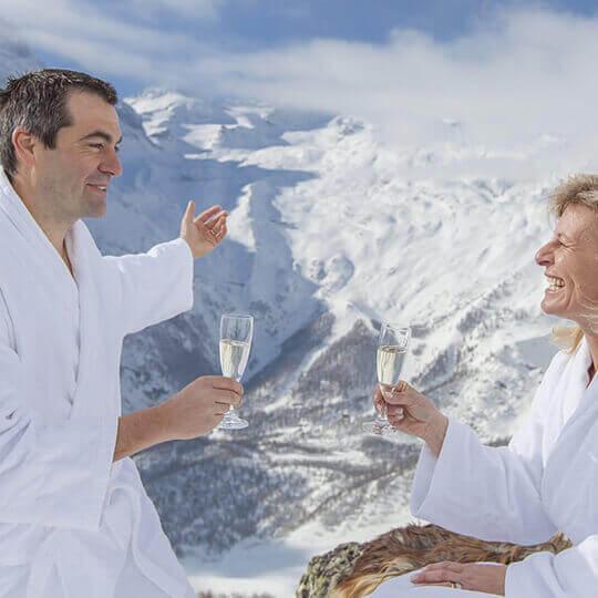 Alpine Wellness in Saas-Fee und im ganzen Saastal  10