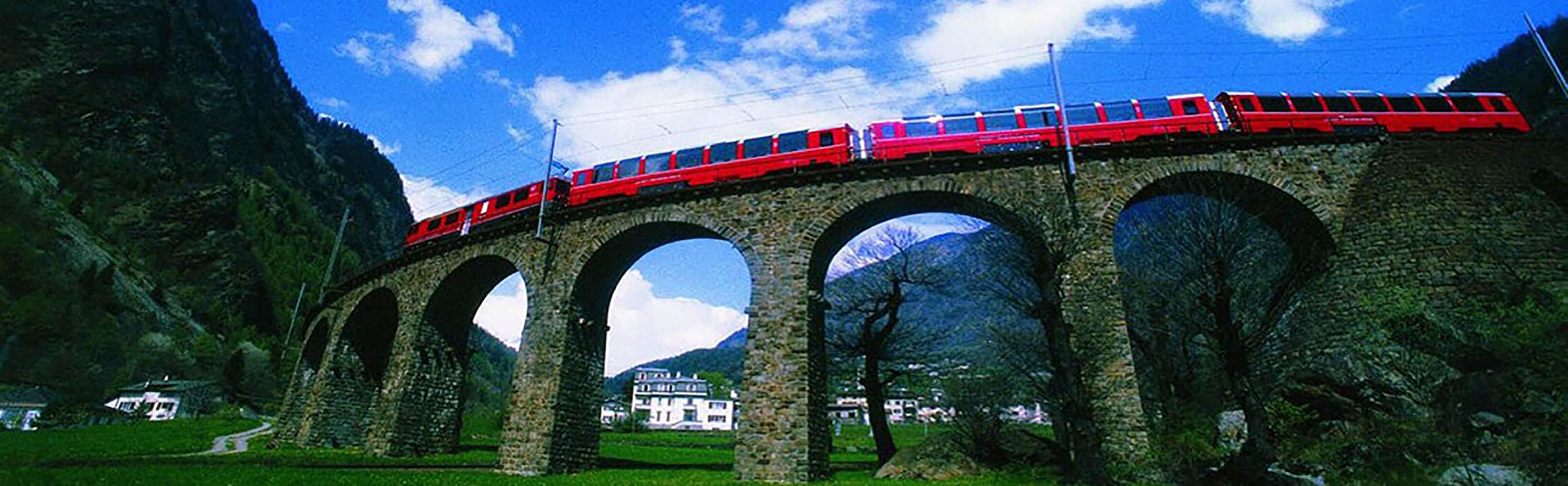 Bernina Express - Von den Gletschern zu den Palmen 1