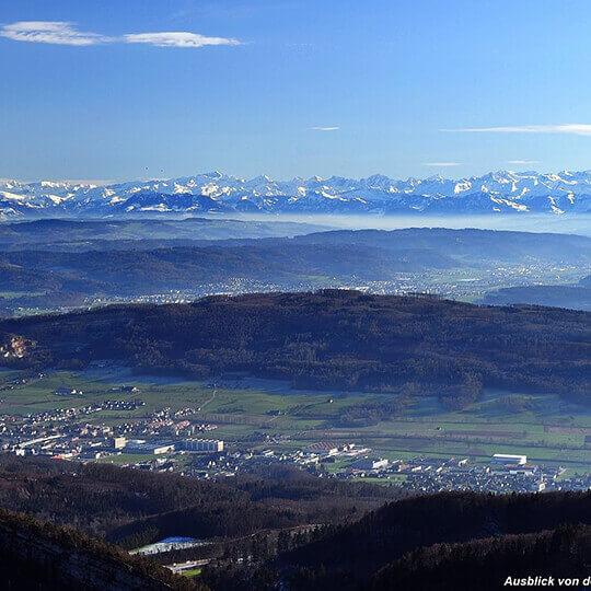 Der Belchen - das Wandergebiet im Schweizer Jura 10