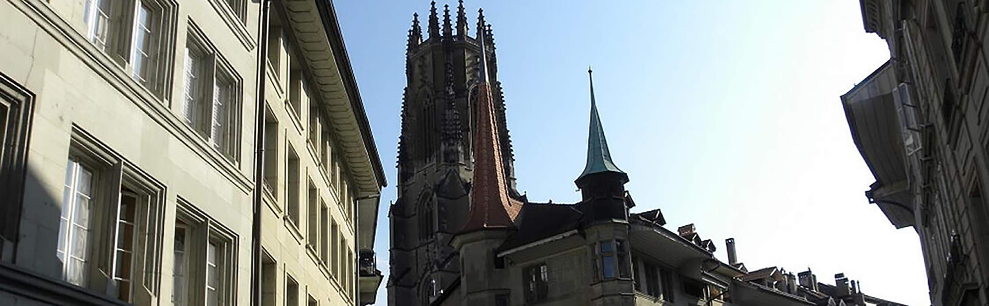 Historische Stadt Fribourg 1