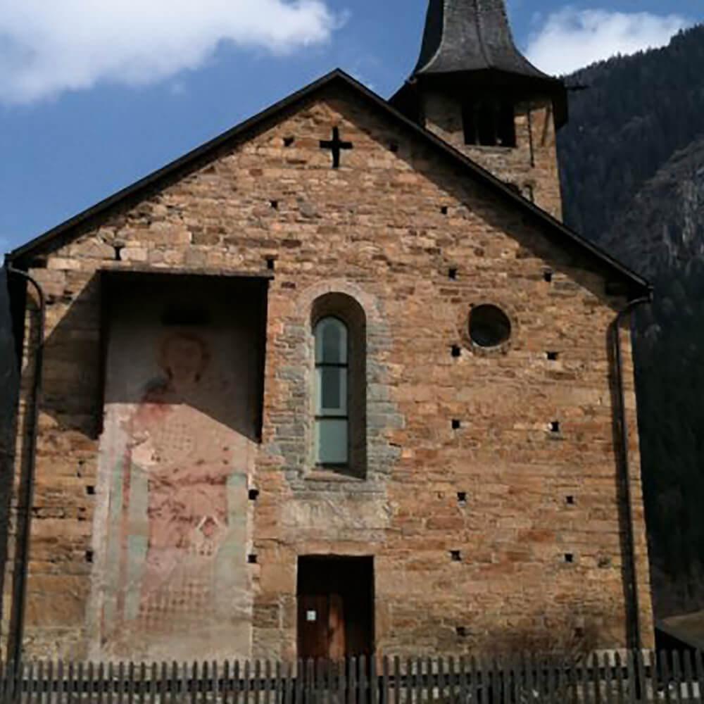 Kirche St. Martin und Museum Zillis