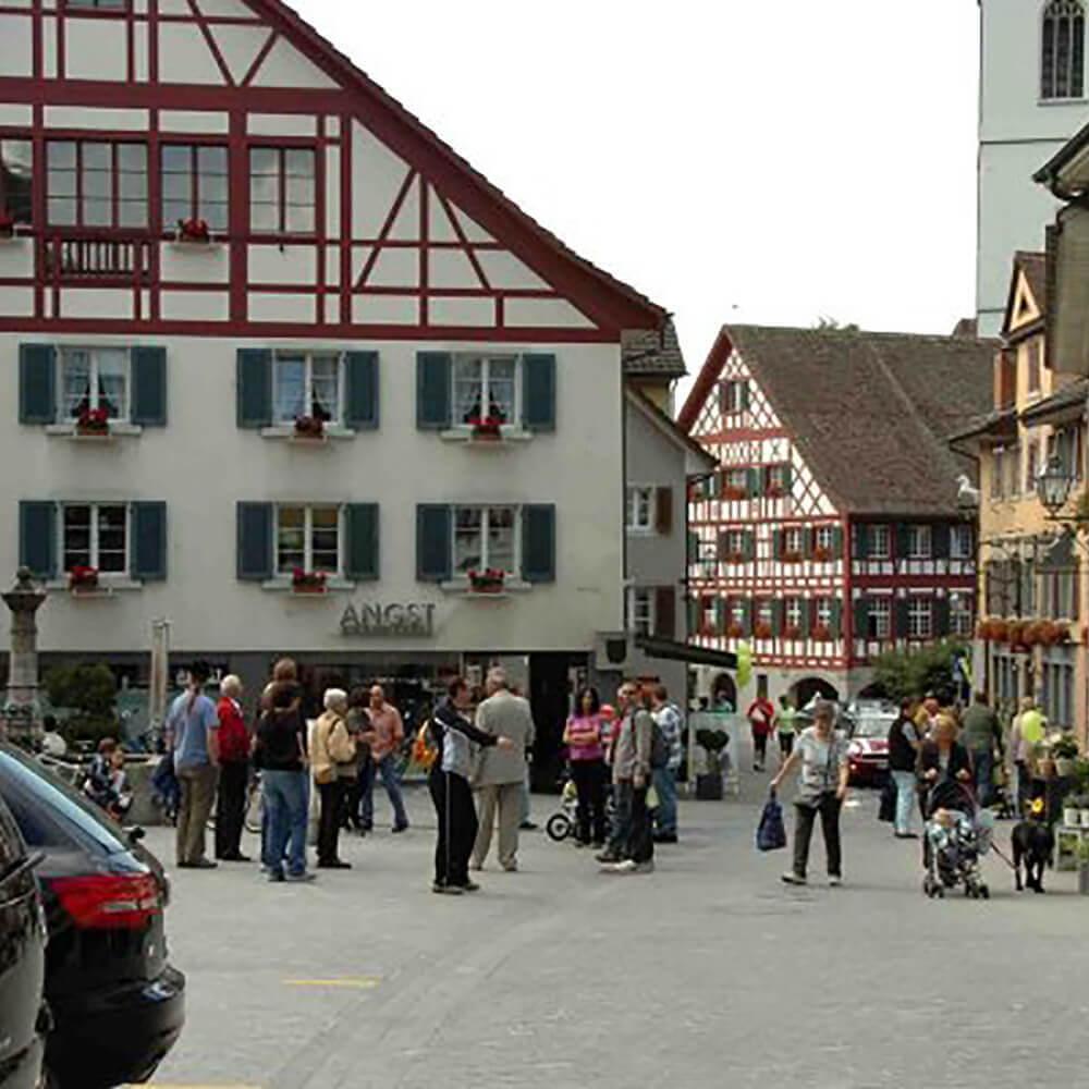 Hotel Restaurant Zum Goldenen Kopf in Bülach bei Zürich -  Einer traditionsreichen Vergangenheit verbunden