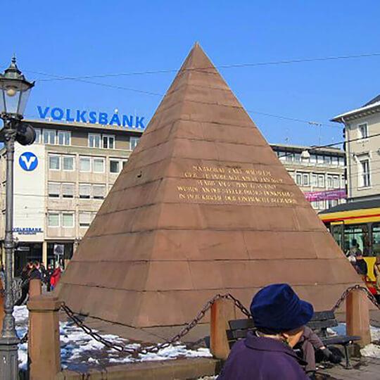 Vorschaubild zu Karlsruher Pyramide