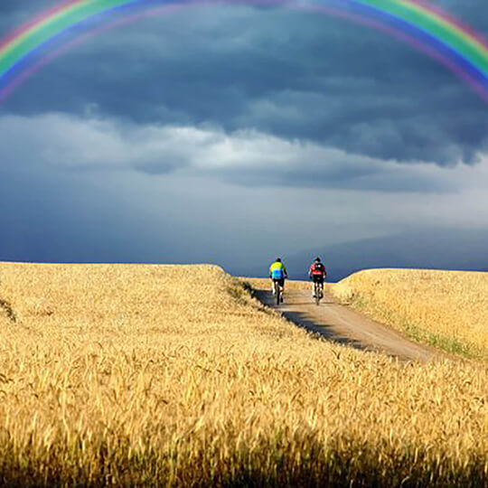 Vorschaubild zu Jakobsweg Fahrradtour mit Vuelta Rad- und Wandertouren
