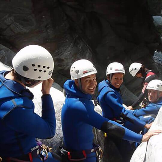 Vorschaubild zu Canyoning & Rafting Tessin Ticino - SwissChallenge GmbH