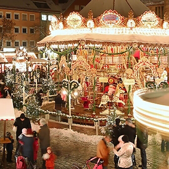Vorschaubild zu Der Nürnberger Christkindlesmarkt
