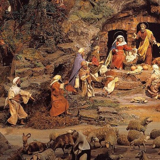 Diorama Bethlehem Einsiedeln 10