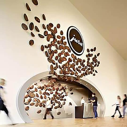 Vorschaubild zu Erlebniswelt Kaffee / JURAworld of Coffee