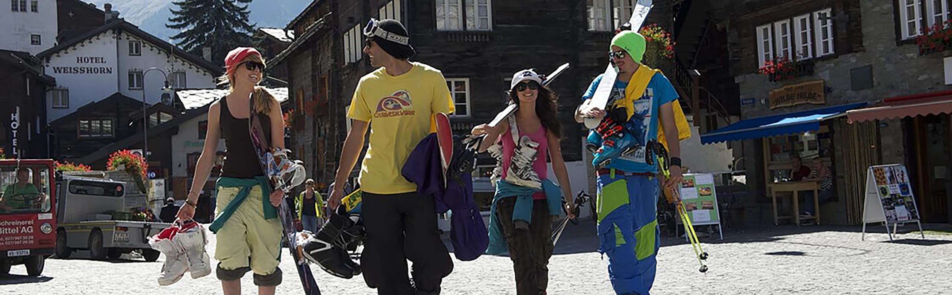 Sommerskifahren in Zermatt 1