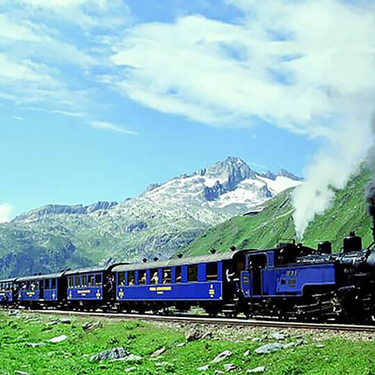 Vorschaubild zu Dampfbahn Furka-Bergstrecke