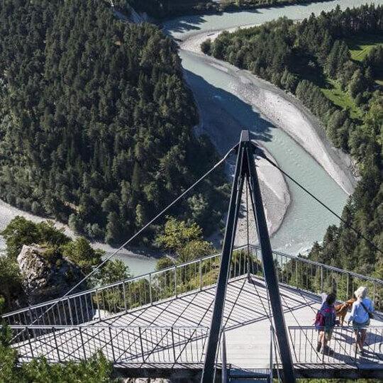 Rheinschlucht bei Flims - die Ruinaulta 10