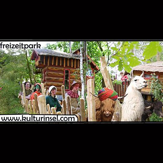 Vorschaubild zu Grüngeringelter Abenteuerfreizeitpark Kulturinsel Einsiedel