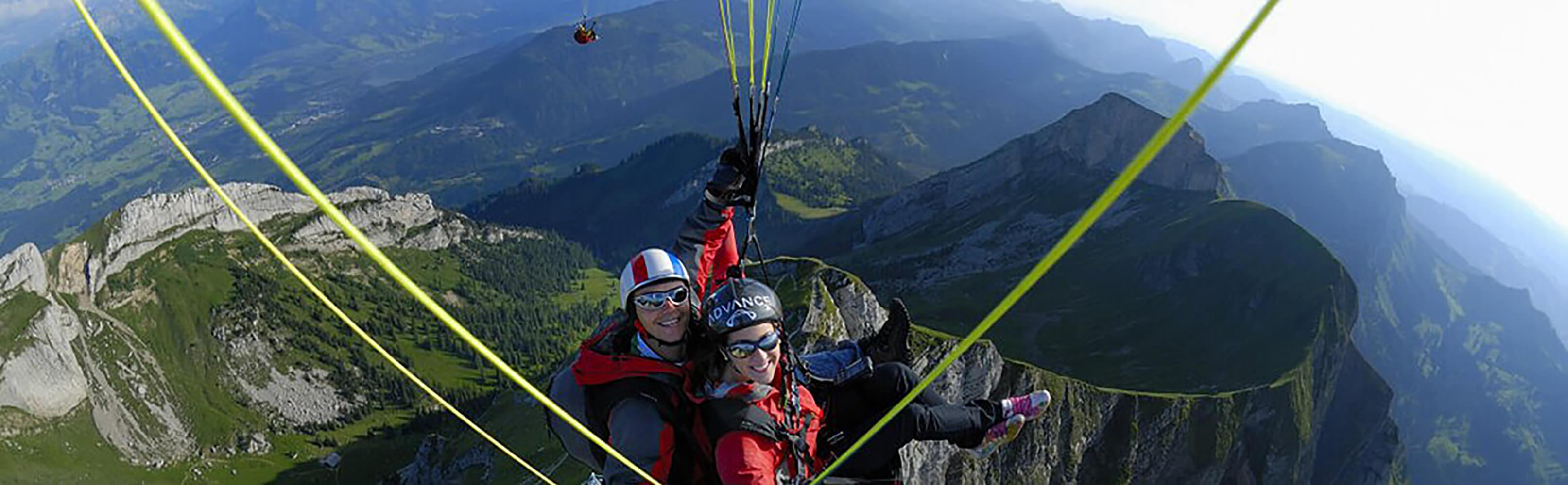 Gleitschirm Tandemflüge in der Zentralschweiz 1