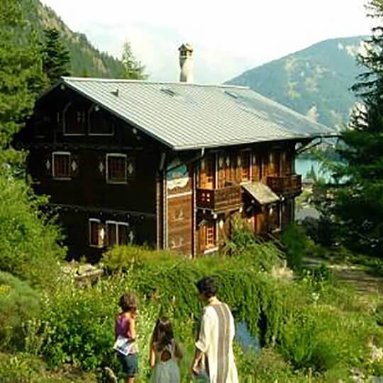 Der botanische Alpengarten Flore-Alpe Champex-Lac