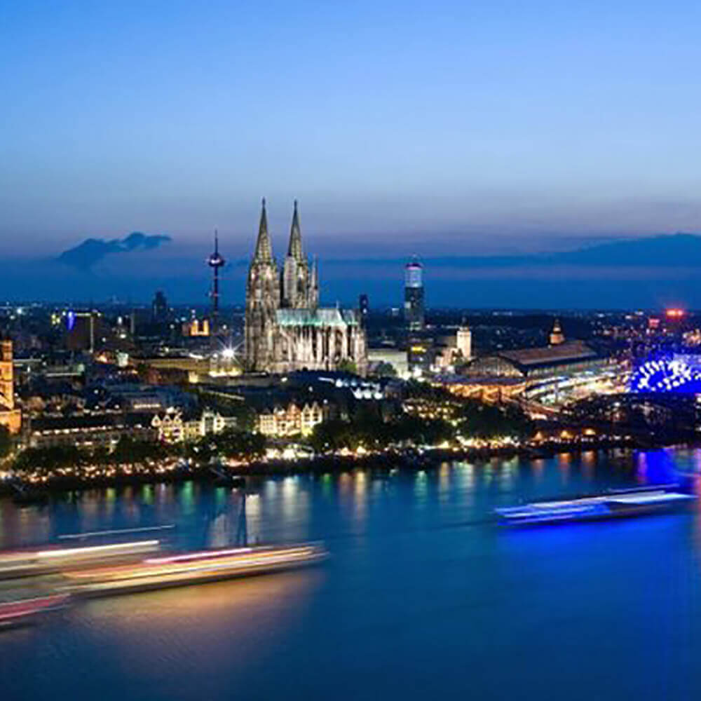 Köln - Metropole am Rhein